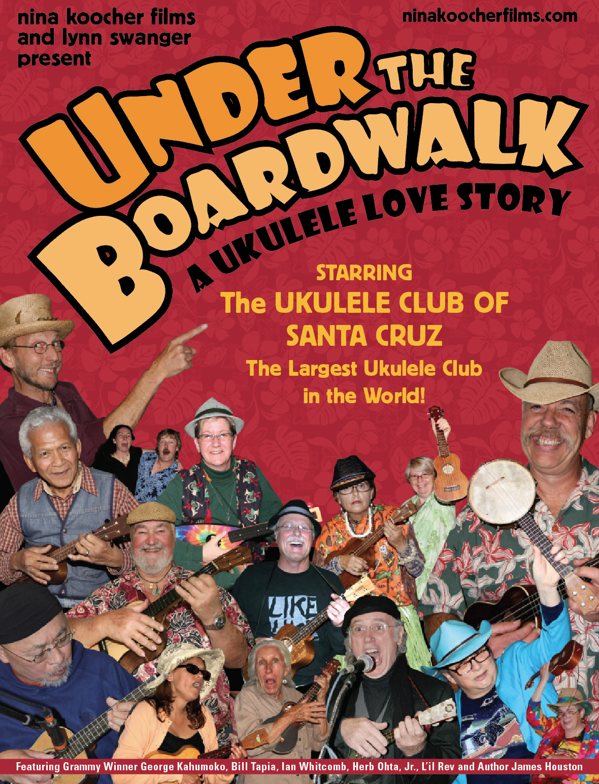 Under the Boardwalk: A Ukulele Love Story