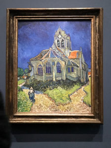 Church at Auvers, painted by Vincent Van Gogh