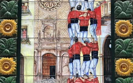 Human towers in Catalonia