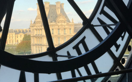 View of the Louvre from Musee D'Orsay
